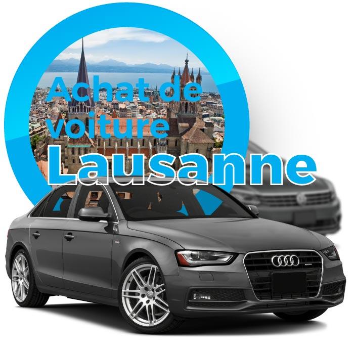 Vendez votre voiture à Lausanne
