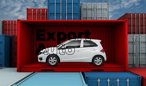 exportation de voitures