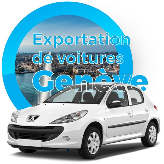 Exportation voitures Geneve