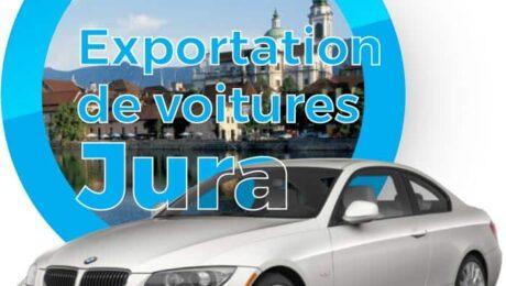 Exportation voitures Jura