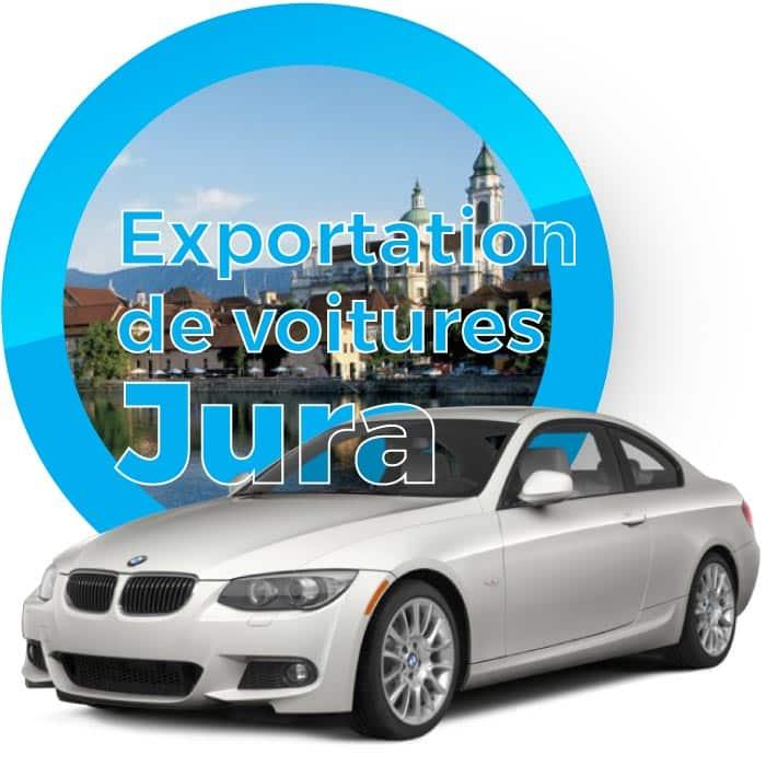 Exportation de voitures dans le canton du Jura