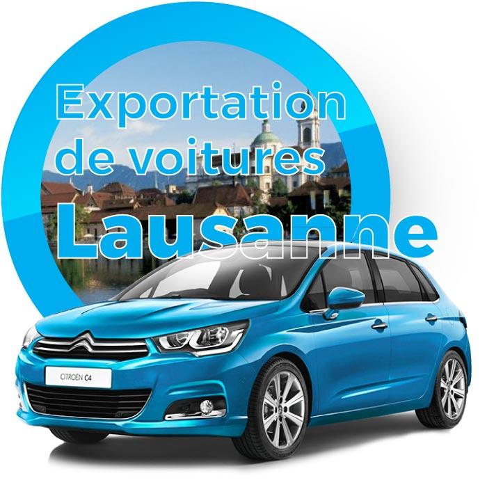Exportation de voitures à Lausanne