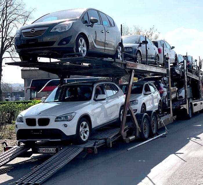 Exportation voitures Suisse
